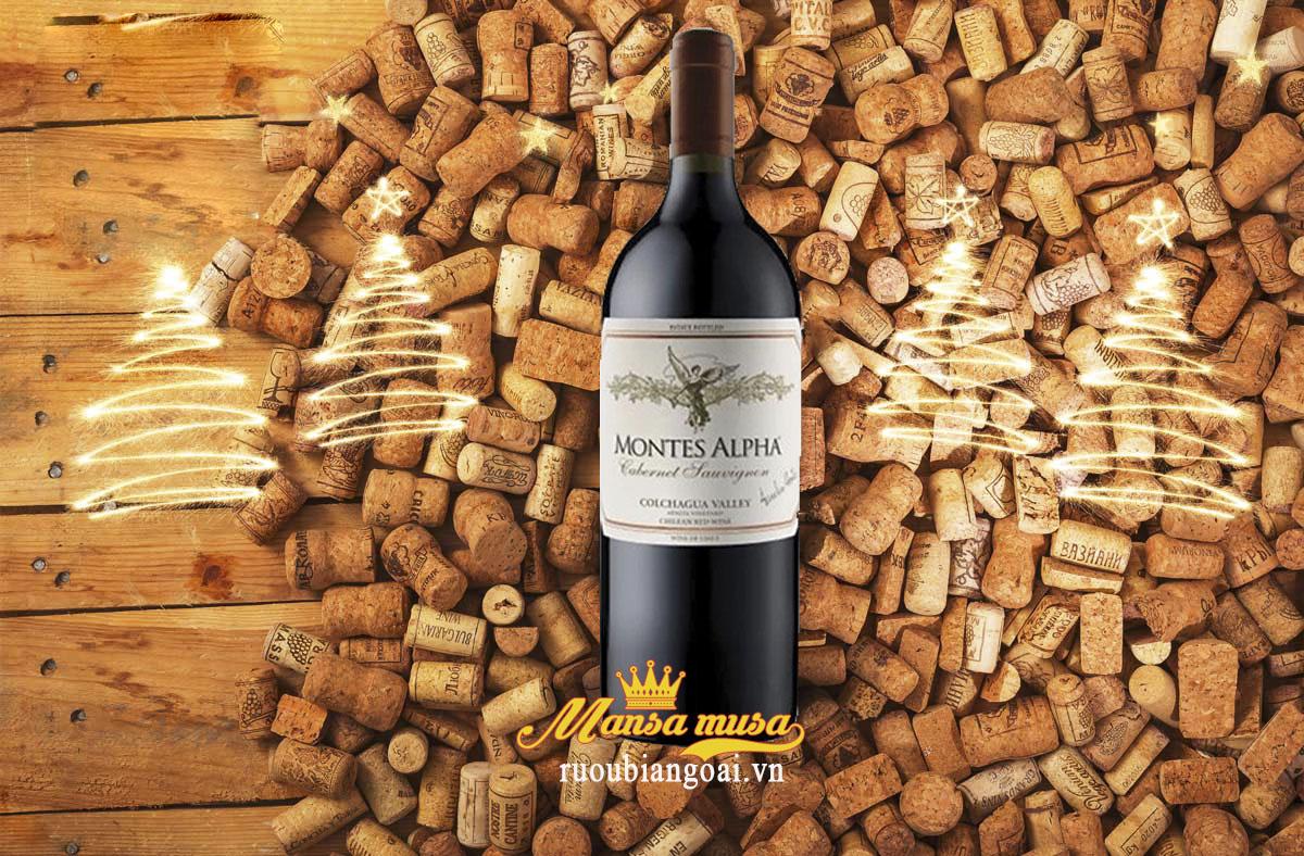 Rượu Vang Montes Alpha Dung Tích 1500ml
