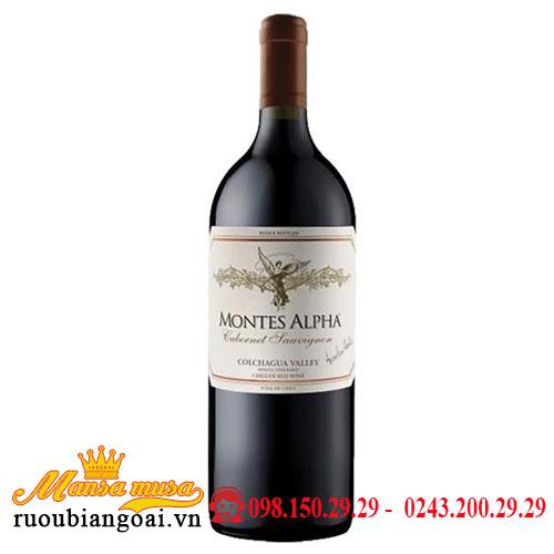 Rượu Vang Chile Montes Alpha Dung Tích 1500ml