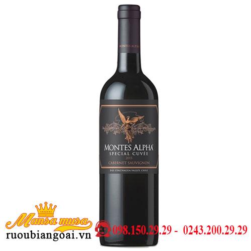 Rượu Vang Montes Alpha Special Cuvee Cabernet Sauvignon