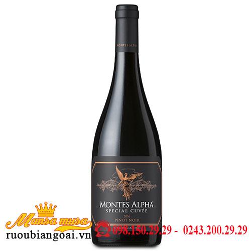 Rượu Vang Montes Alpha Special Cuvee Pinot Noir - Rượu Vang Chile