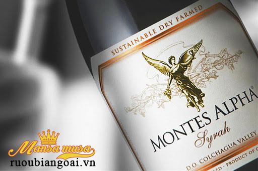 Rượu Vang Montes Alpha Syrah - Rượu Vang Chile