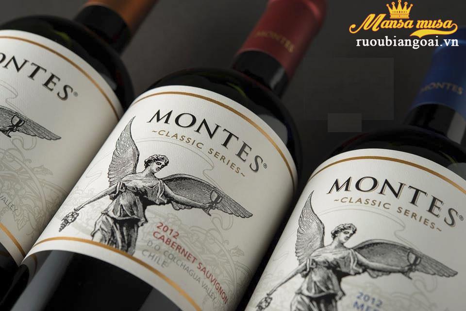 Rượu Vang Montes Classic Series Cabernet Sauvignon - Rượu Vang Chile