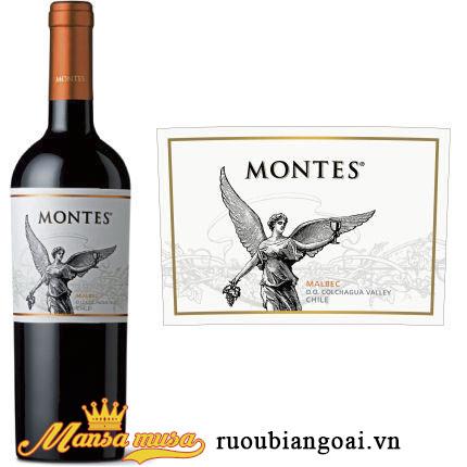 Rượu Vang Montes Classic Series Malbec - Rượu Vang Chile