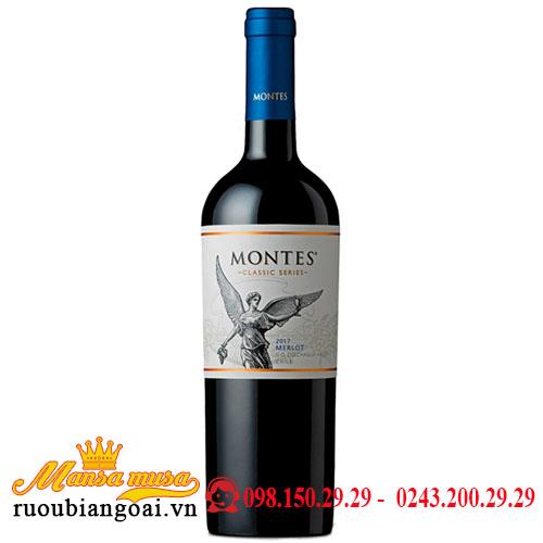 Rượu Vang Montes Classic Series Merlot - Rượu Vang Chile