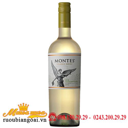 Rượu Vang Montes Classic Series Sauvignon Blanc - Rượu Vang Chile
