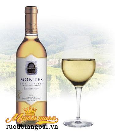 Rượu Vang Chile Montes Late Harvest Gewurztraminer