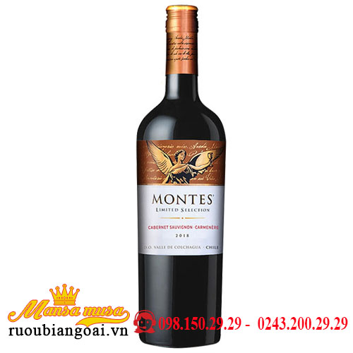 Rượu Vang Montes Limited Selection Cabernet Sauvignon Carmenere