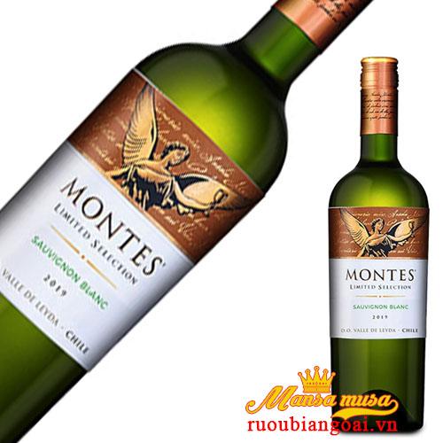 Rượu Vang Montes Limited Selection Sauvignon Blanc | Rượu Vang Chile