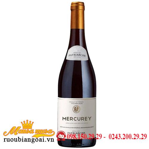 Rượu Vang Patriarche Mercurey   Rượu Vang Pháp