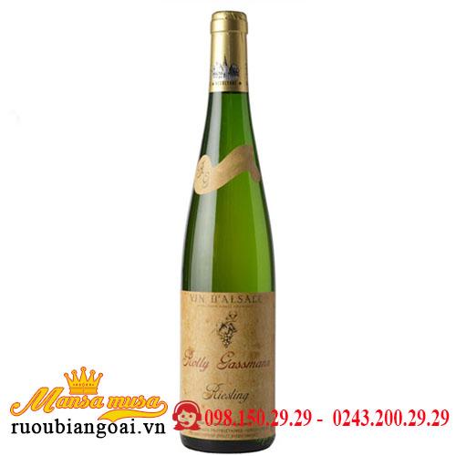 Rượu Vang Rolly Gassmann De Rorschwihr Riesling   Rượu Vang Pháp