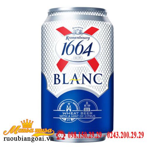 Bia 1664 Kronenbourg 5,5% Pháp – 24 lon 330ml