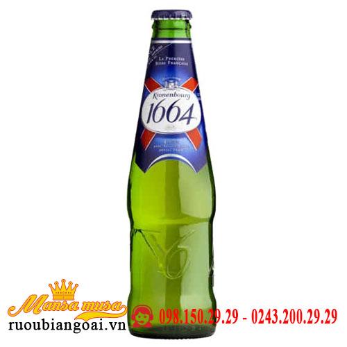 Bia 1664 Kronenbourg 5,3% Pháp – 20 chai 250ml