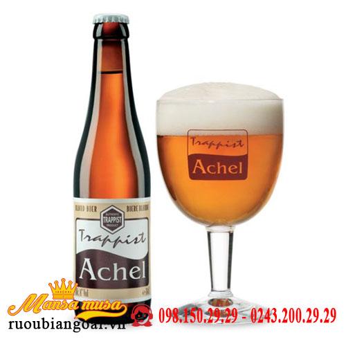 Bia Achel Trappist Blond 8% Bỉ – chai 330ml