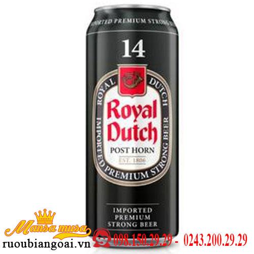 Bia Royal Dutch 14% Hà Lan – 24 lon 500ml