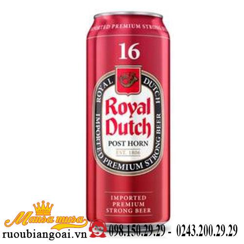 Bia Royal Dutch 16% Hà Lan – 24 lon 500ml