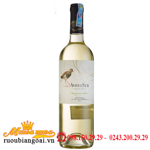 Vang Aves Del Sur Classico Sauvignon Blanc