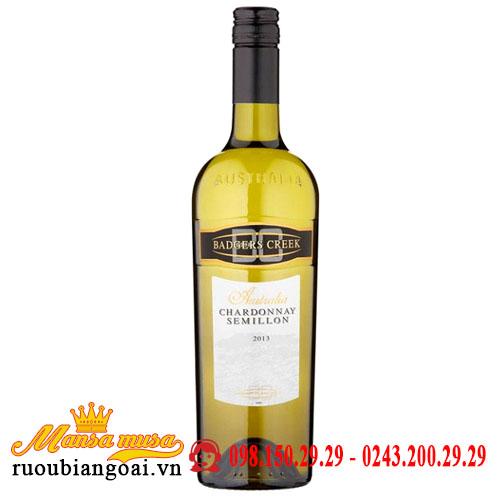 Vang Badgers Creek Chardonnay Semillon
