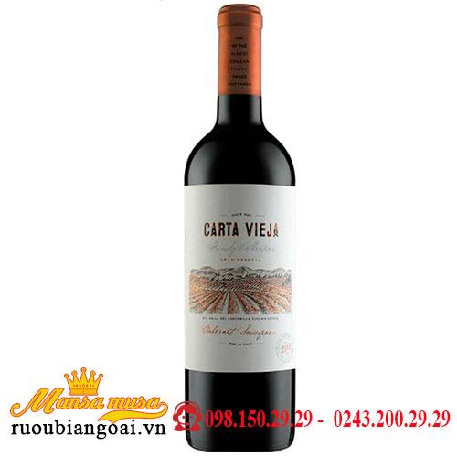 Vang Carta Vieja Gran Reserva Cabernet Sauvignon