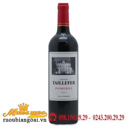 Vang Chateau Taillefer 2014