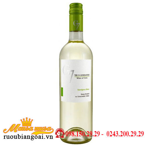 Vang G7 Generation Sauvignon Blanc