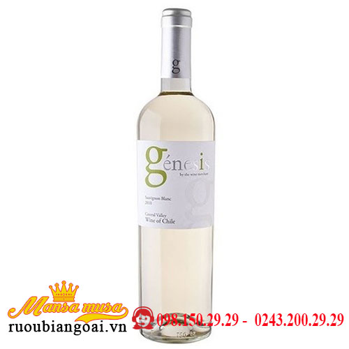 Vang Genesis Sauvignon Blanc
