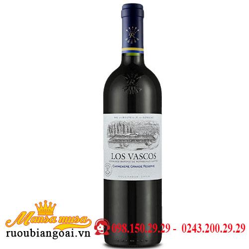 Vang Los Vascos Gran Reserva Carmenere