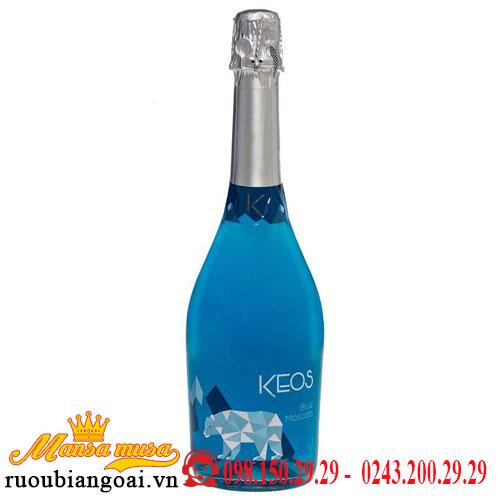 Vang Nổ Keos Blue Moscato