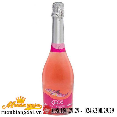 Vang Nổ Keos Pink Moscato