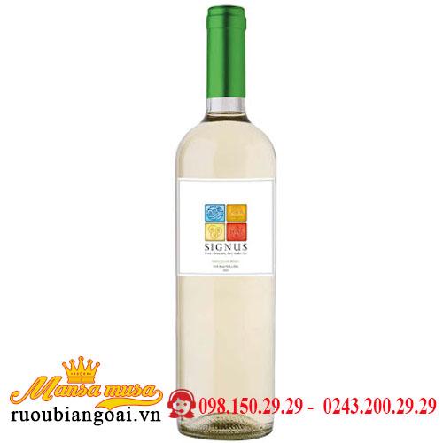 Vang Signus Sauvignon Blanc