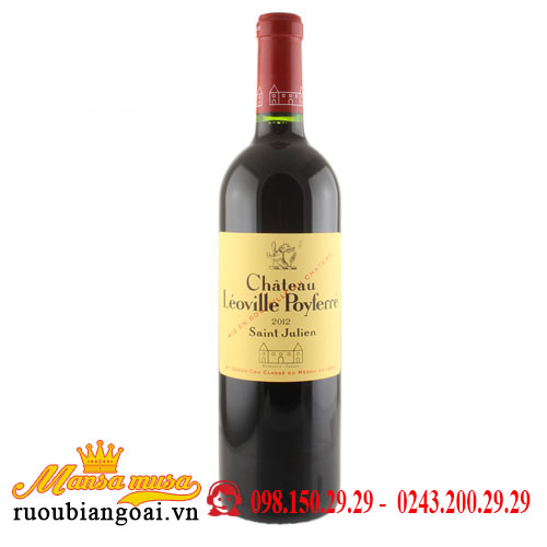 Vang Chateau Leoville Poyferre 2012