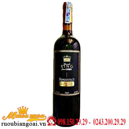 Vang Grande King Semidolce Limited Edition