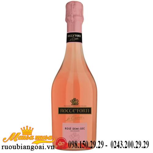 Vang Rocca dei Forti Le Cuvée Rosé Demi Sec